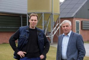 Foto van Ben Beerens en vader Hendrik